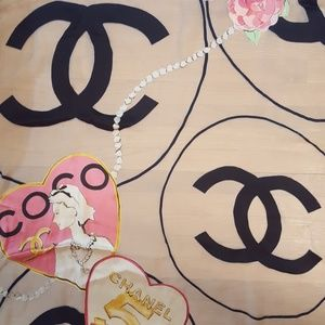 Accessories - Chanel inspired scarf